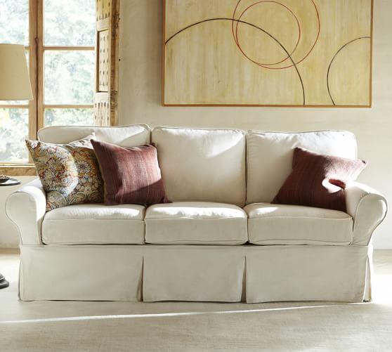 PB Basic Furniture Slipcovers | Pottery Barn