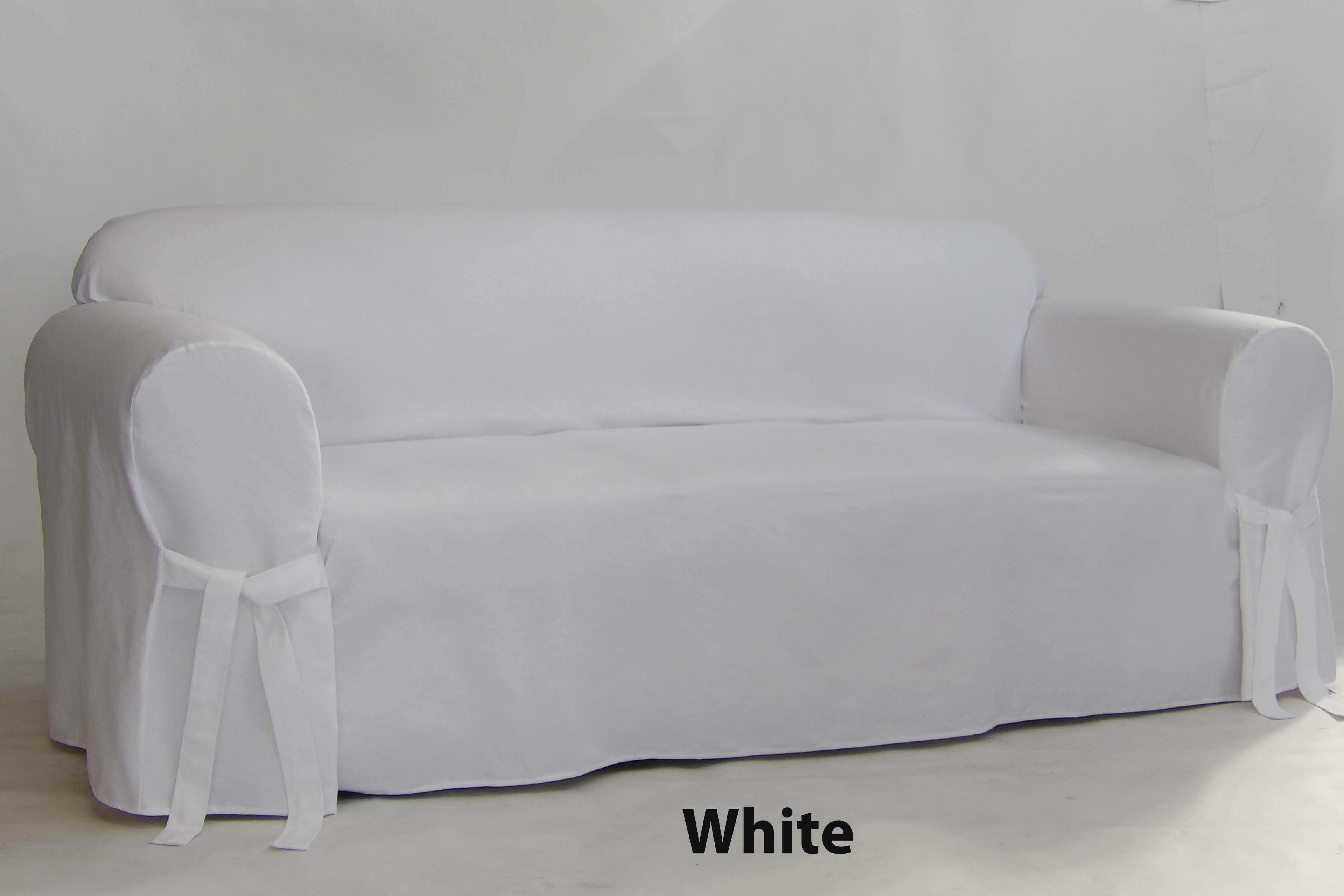 Furniture Slipcovers | Classic Cotton Twill