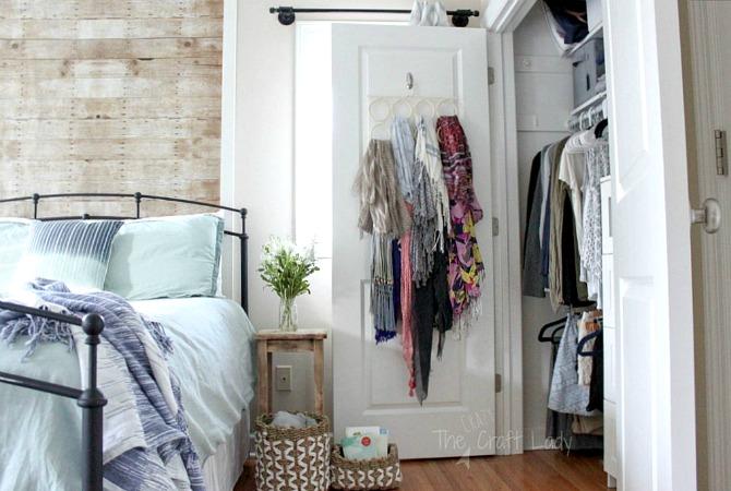 Small Closet Organizing 101 - The Crazy Craft Lady