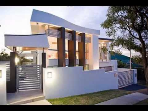 Modern contemporary house design ideas - YouTube