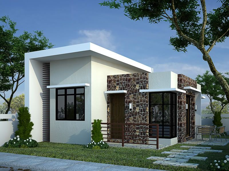 Top Modern Bungalow Design | fab | House design, Bungalow house