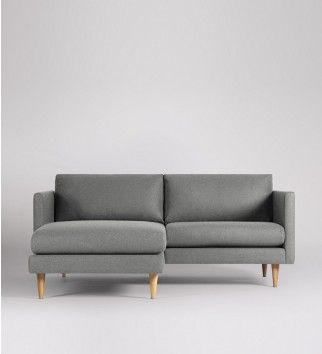 Tivoli, Left-hand Small Corner Sofa. L-shaped sofa dreams achieved