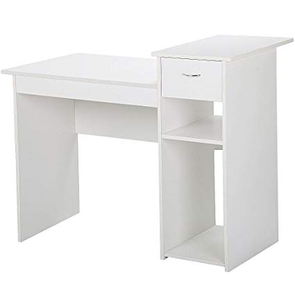 Amazon.com: Yaheetech Small Computer Desk Study Writing Table with