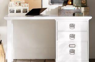 Bedford 3-Drawer Small Desk   Pottery Barn