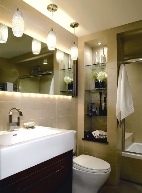 Small master bathroom remodel ideas: photos and products ideas