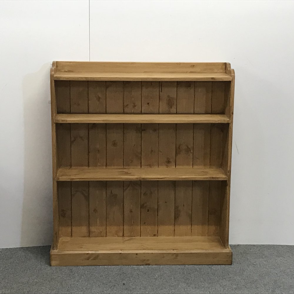 Small Handmade Pine Bookcase (Y4556A+) u2014 Pinefinders Old Pine