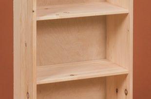 Small Pine Bookshelf - Stark Wood Unfinished Furniture Stark Wood