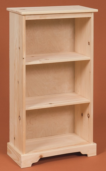 Small Pine Bookshelf - Stark Wood Unfinished Furniture Stark Wood