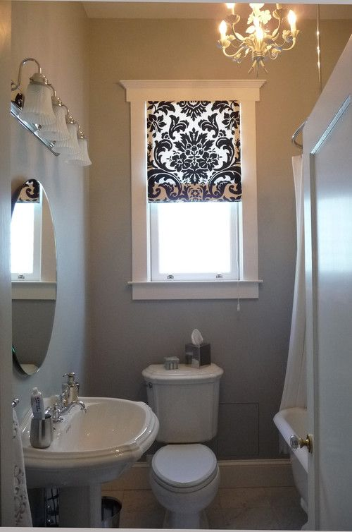 Bathroom Window Curtains | Options: Lined / Unlined Curtains | The