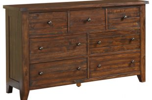 Cally Solid Wood Dresser - Rustic - Dressers - by Modus Furniture