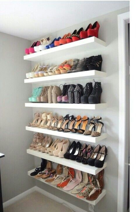 Good lifestyle makes good impression: space saving shoe storage