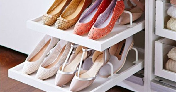 17 Space-Saving Ideas For Shoe Storage | Postris