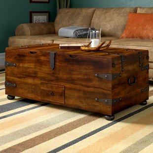 Coffee Table With Wine Storage | Wayfair