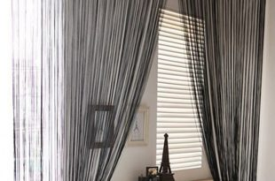 String Tassel Panel Curtain Room Divider Door Hanging 1m x 2m Window