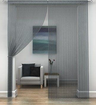 String Curtain Panels | Posh Fly Screens | Assorted Colours