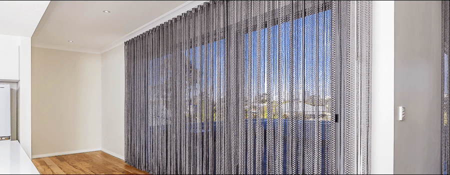 String Curtains in Perth | AMT Blinds