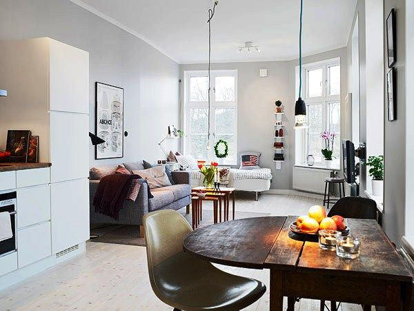 24 Studio Apartment Ideas and Design that Boost Your Comfort | water
