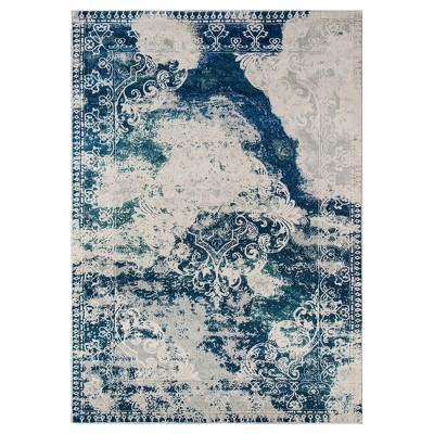 Savion Rug - Blue - (5'3