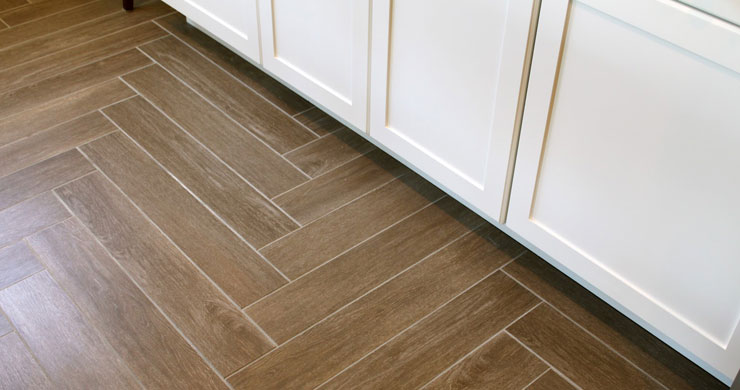 Tile That Looks Like Wood vs Hardwood Flooring | Home Remodeling