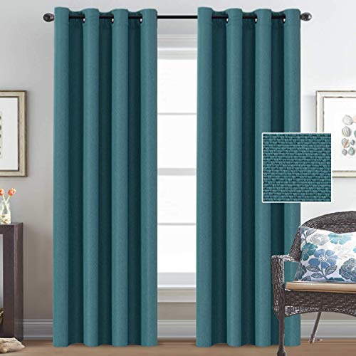 Teal Curtains for Living Room: Amazon.com
