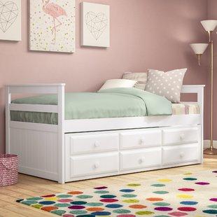 Kids Trundle Bed With Storage | Wayfair