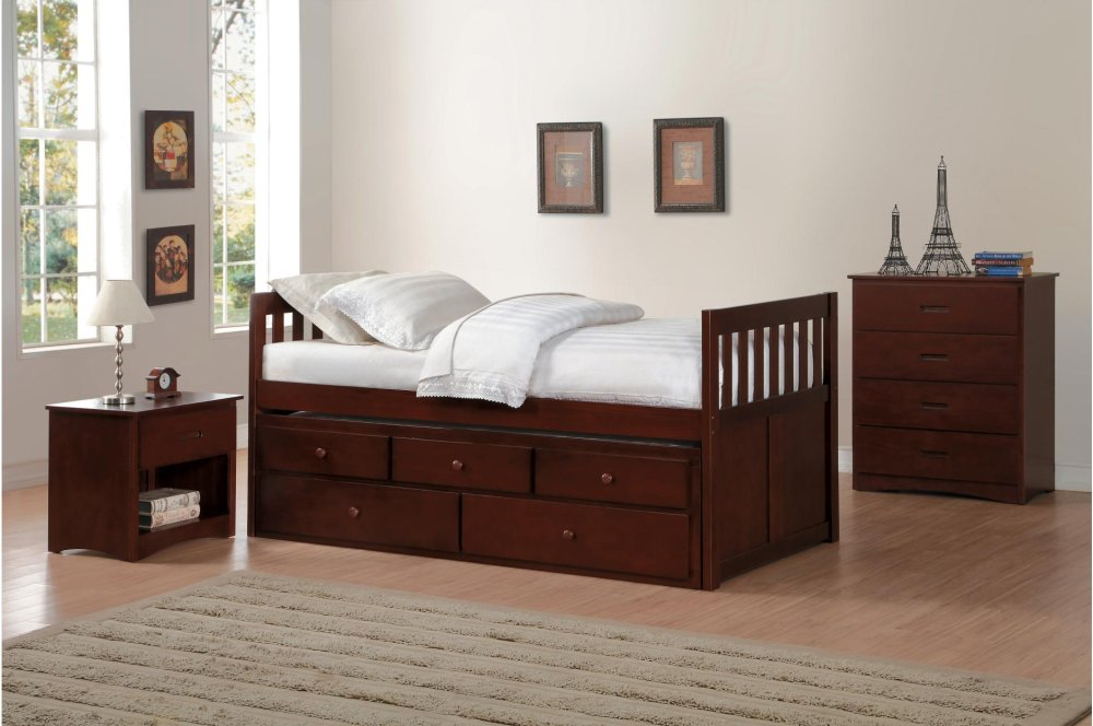 B2013PRDC1 in by Homelegance in Orange, CA - Twin/Twin Trundle Bed