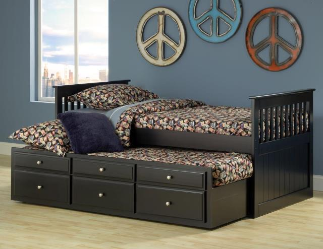 Twin Trundle Bed With Storage u2013 Mattress Zone Outlet