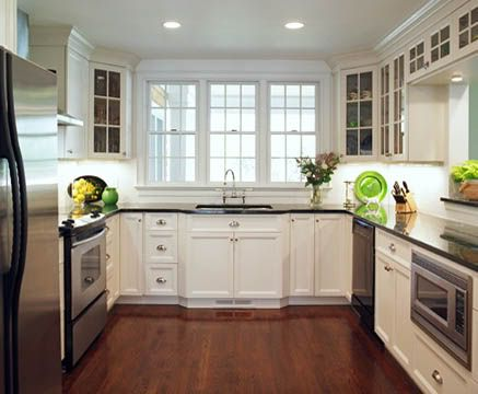 Small U Shaped Kitchen Designs | Small U-shaped kitchen - Kitchens