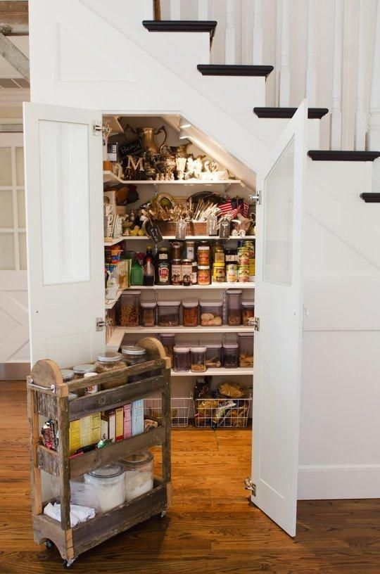 Under Stairs Storage Ideas For Small Spaces | Organize: Kitchen