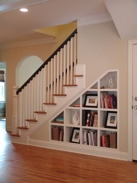 Under Stairs Storage Design Ideas