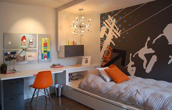 Unique Teen Interior Room Decor