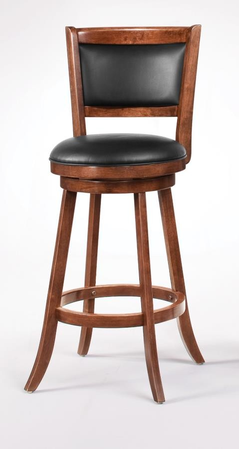 BAR STOOLS: WOOD SWIVEL - 29