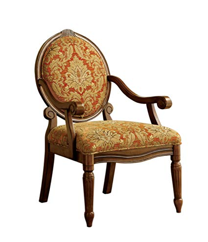 Amazon.com: Furniture of America Gwyneth Victorian Style Padded