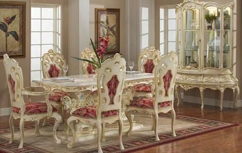 VICTORIAN DINING ROOM 755 WITH SMALL CHINA in 2019 | victorian ideas