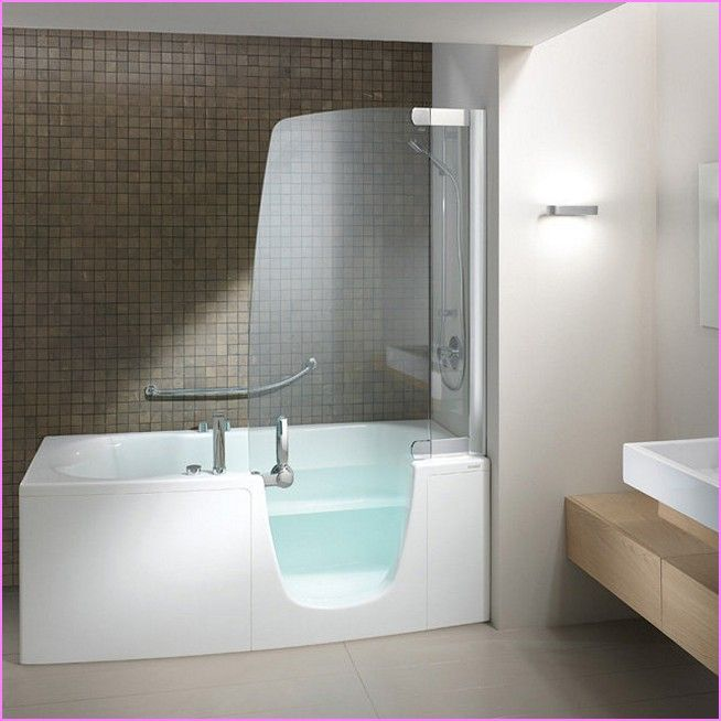 Drop In Tub Shower Combo Marvelous Walk Bath Pinterest Tubs And