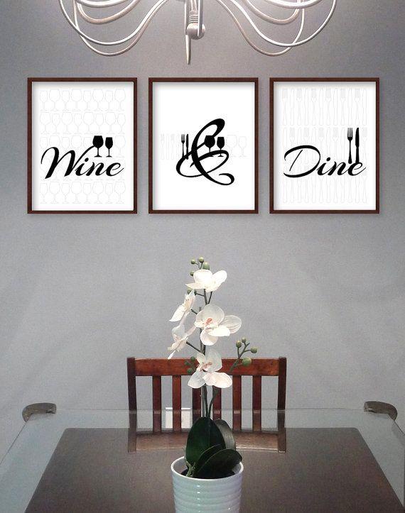 Dining Room Wall Art - Dining Room Art - Kitchen Prints - Kitchen