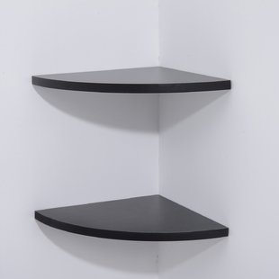 Wall Mounted Corner Shelf | Wayfair.co.uk