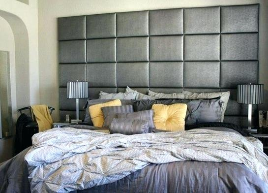 Get stylish and luxurious wall mounted headboards for super king