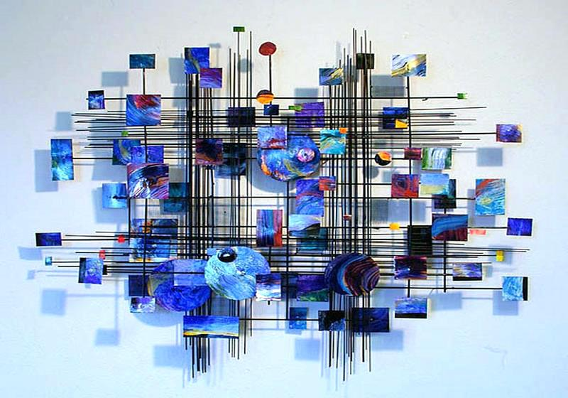 Vertical Wall Sculpture Metal Wall Sculpture In Exquisite Designs