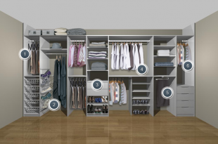 wardrobe storage solutions for small bedrooms - Google Search