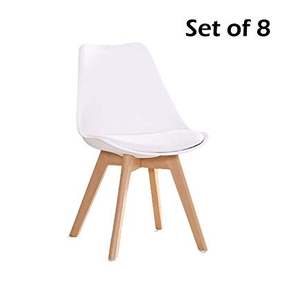 Amazon.com - YEEFY Dining Chairs Modern Dining Room Chair Natural