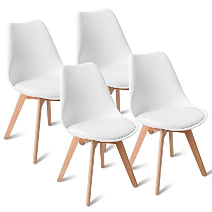 Amazon.com - Giantex Mid Century Modern DSW Dining Chairs