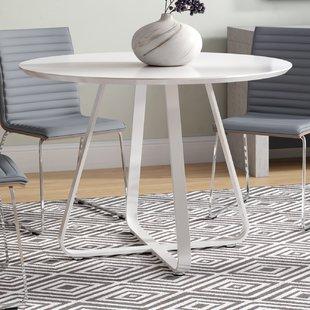 White High Gloss Dining Table | Wayfair