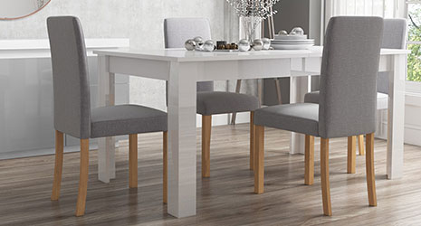 High Gloss Dining Collections | Furniture 123