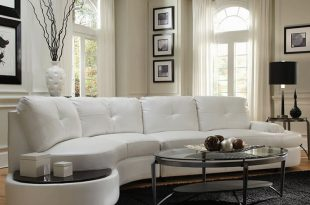 Get perfect design of white leather sectional sofa decorating ideas