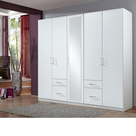 Three Door Wardrobe With Mirror In Finish By Wardrobes Mirrors Ikea