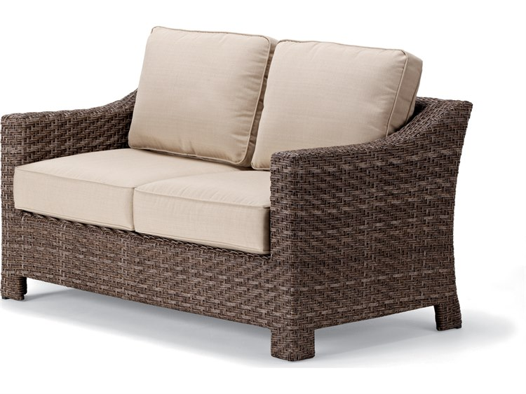 Telescope Casual Lake Shore Wicker Loveseat | 2L40