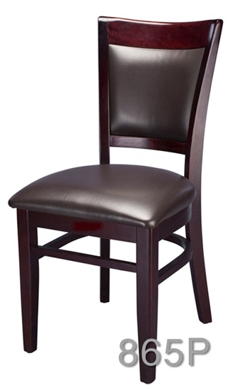 Upholstered Restaurant Wood Dining Chair