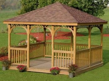 Tricks for Build a Wooden Gazebo | Wooden Design Plans | Gazebos and