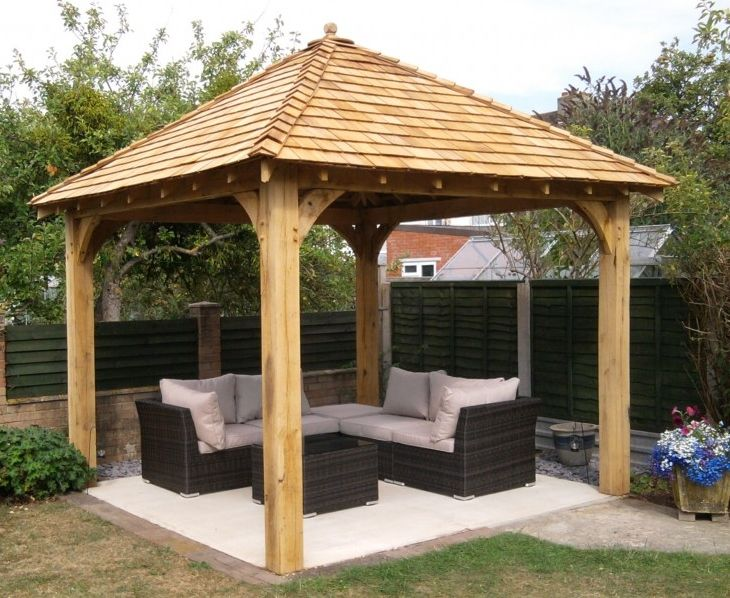 Design best wood gazebo canopy for your garden u2013 DesigninYou